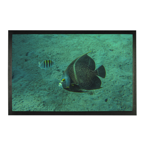 Sublimation Doormat - Reef Fish Collection - Angel