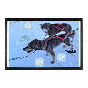Sublimation Doormat - Alaska Sled Dogs Collection