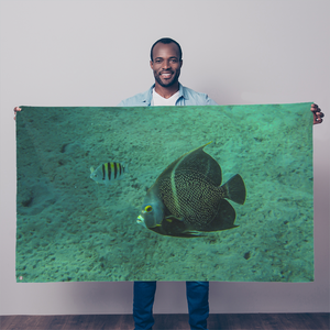 Sublimation Flag/Banner - Reef Fish Collection - Angel