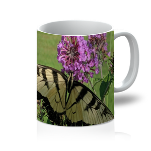 11oz Mug - Swallowtail Butterfly - The Nature Collection