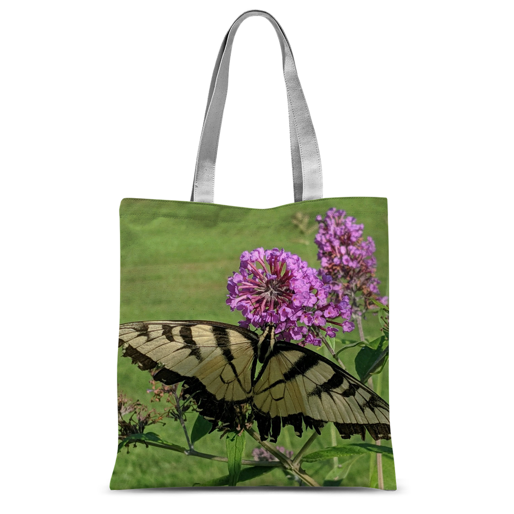 Classic Sublimation Tote Bag - Swallowtail Butterfly - The Nature Collection