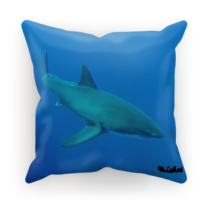 Sublimation Cushion/Throw Pillow Cover - Candy the Great White Shark Collection