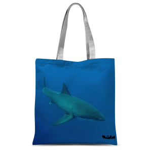 Classic Sublimation Tote Bag - Candy the Great White Shark Collection