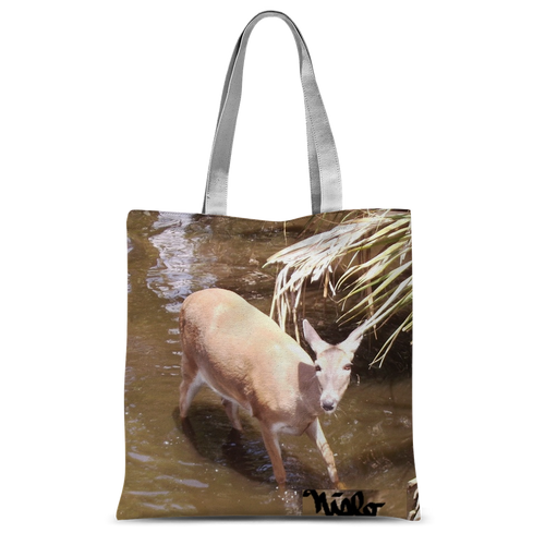 Classic Sublimation Tote Bag - Daisy the Deer Collection