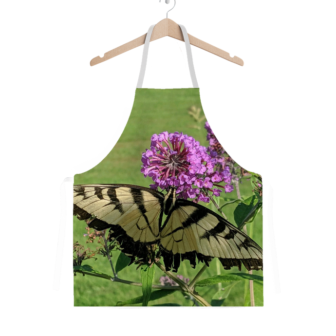 Classic Sublimation Adult Apron - Swallowtail Butterfly - The Nature Collection
