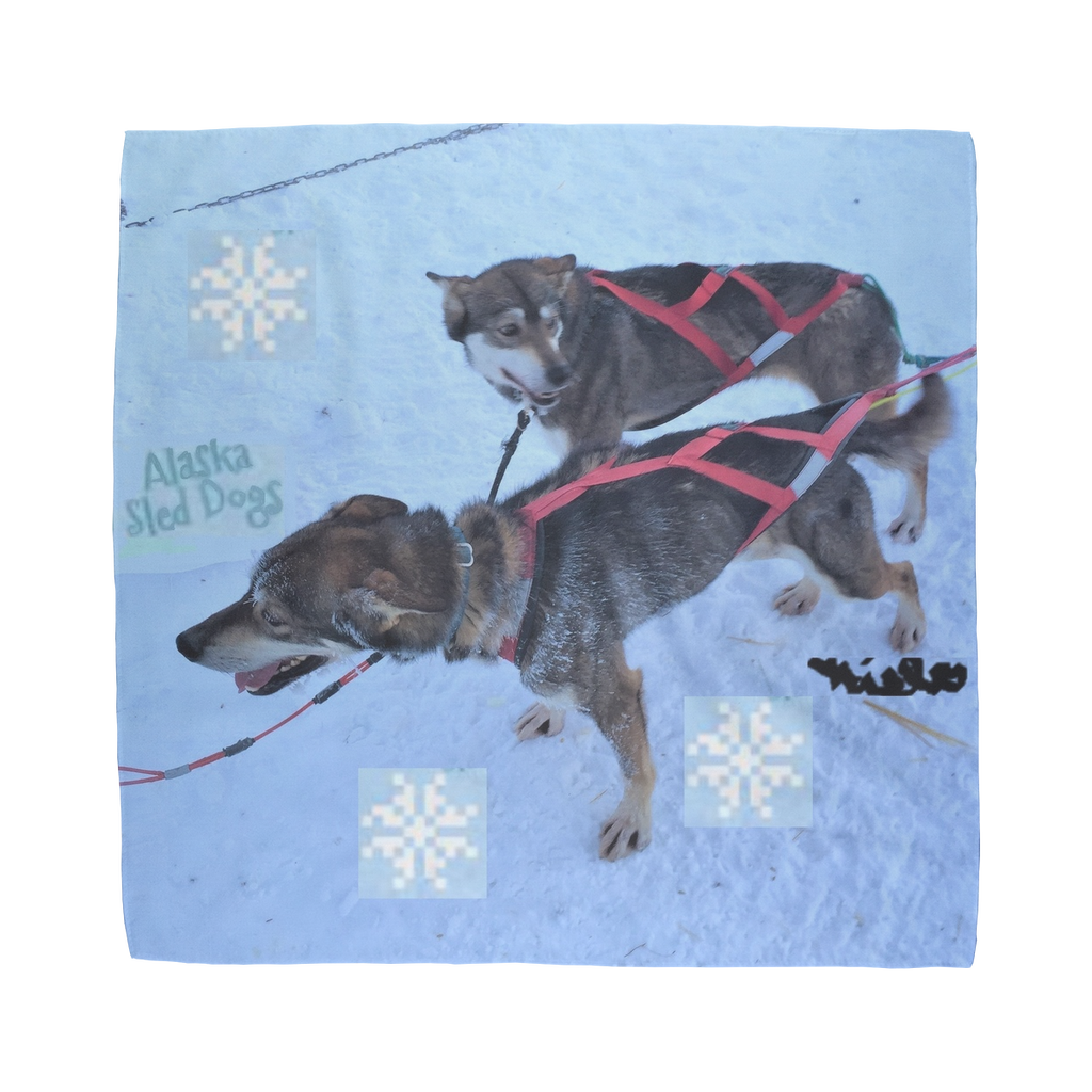 Sublimation Bandana - Alaska Sled Dogs Collection