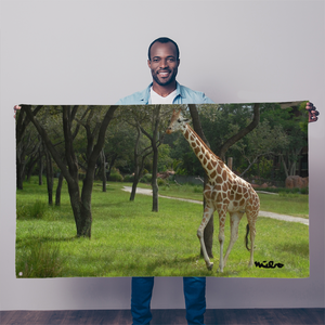 Sublimation Flag/Banner - Jeffrey the Giraffe Collection