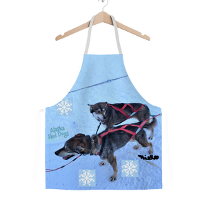 Classic Sublimation Adult Apron - Alaska Sled Dogs Collection