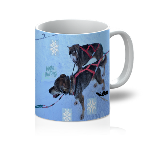 11oz Mug - Alaska Sled Dogs Collection
