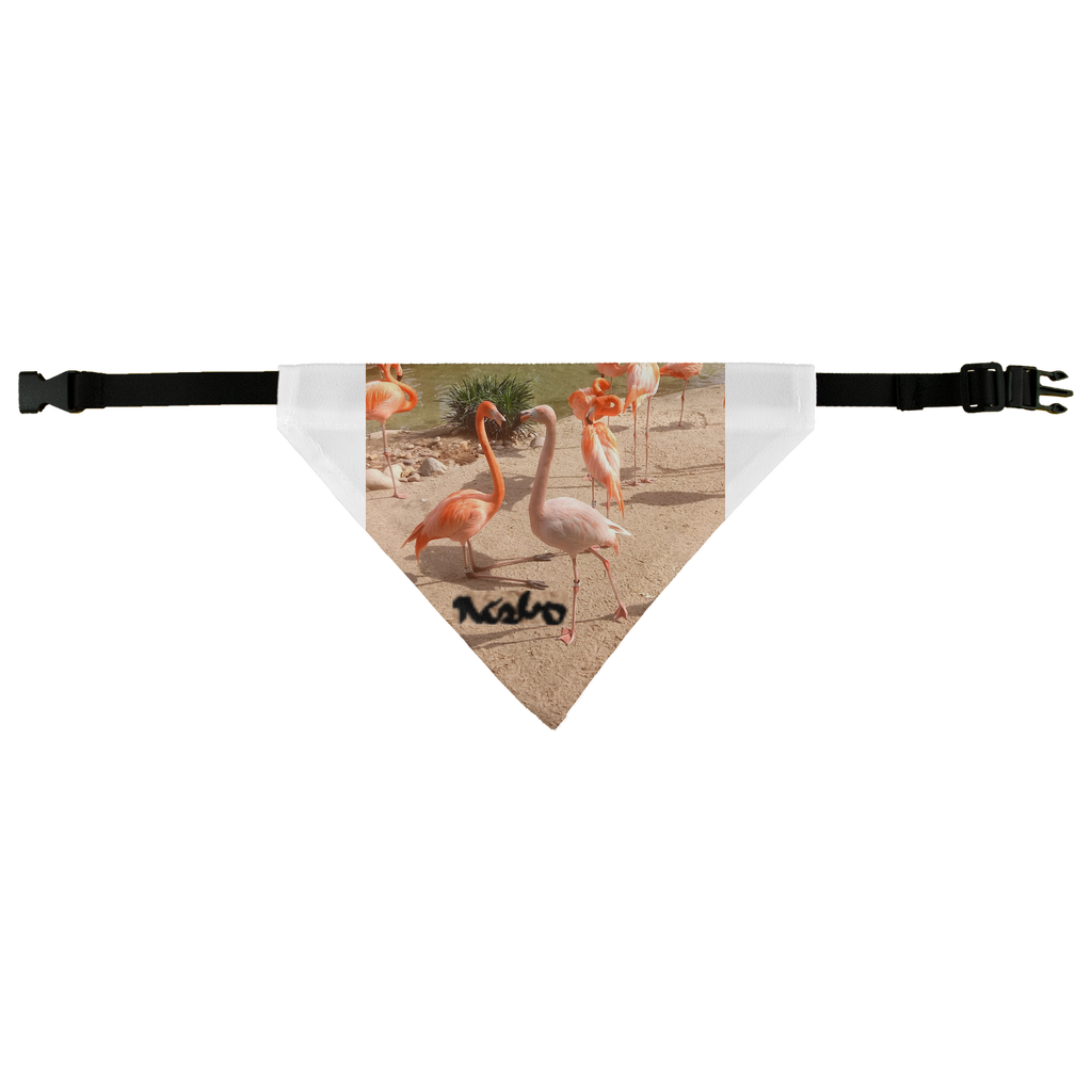 Pet Bandana - Flamingo Friends Collection