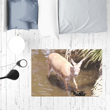 Load image into Gallery viewer, Sublimation Mat / Carpet / Rug / Play Mat / Pet Feeding Mat - Daisy the Deer Collection