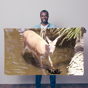 Sublimation Flag/Banner - Daisy the Deer Collection
