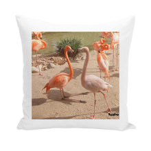 Load image into Gallery viewer, Throw Pillow/Cushion Cover - Flamingo Friends Collection