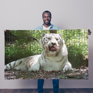 Sublimation Flag/Banner - Wally the White Tiger Collection