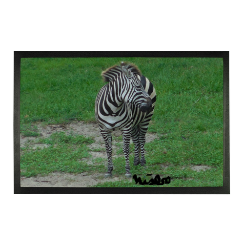 Sublimation Doormat - Zoey the Zebra Collection