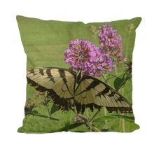 Load image into Gallery viewer, Throw Pillow/Cushion Covers - Swallowtail Butterfly - The Nature Collection