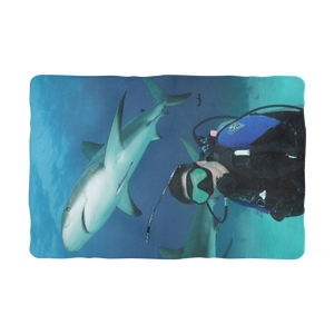 Sublimation Pet Blanket - Swimming With Sharks Collection