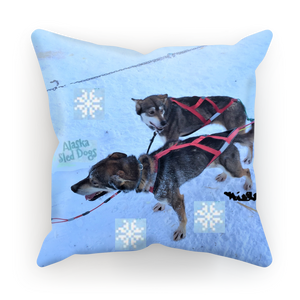 Sublimation Cushion/Throw Pillow Cover - Alaska Sled Dogs Collection