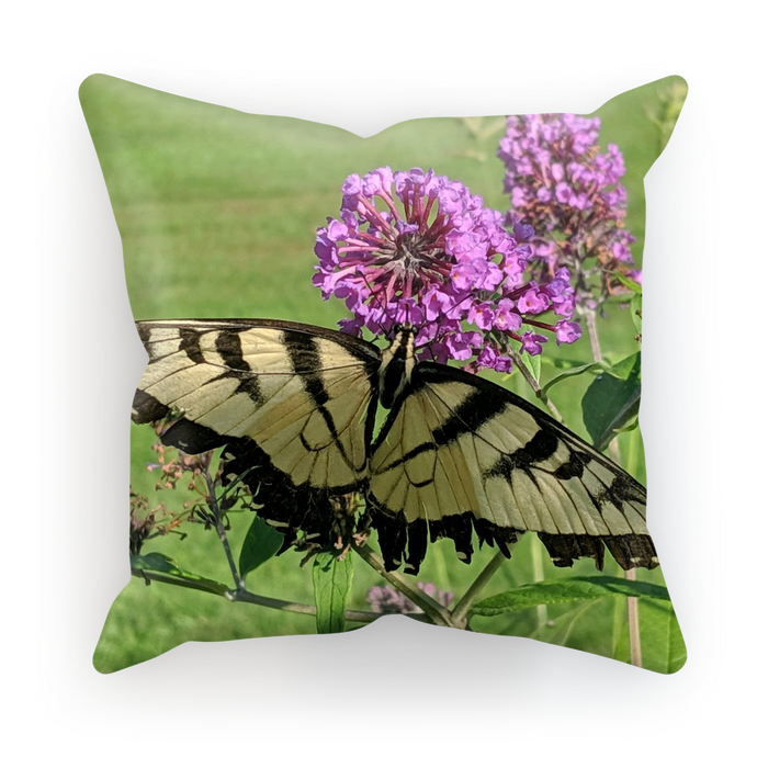 Sublimation Throw Pillow/Cushion Cover - Swallowtail Butterfly - The Nature Collection