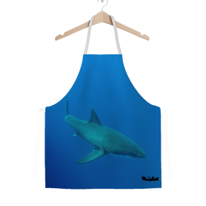 Classic Sublimation Adult Apron - Candy the Great White Shark Collection