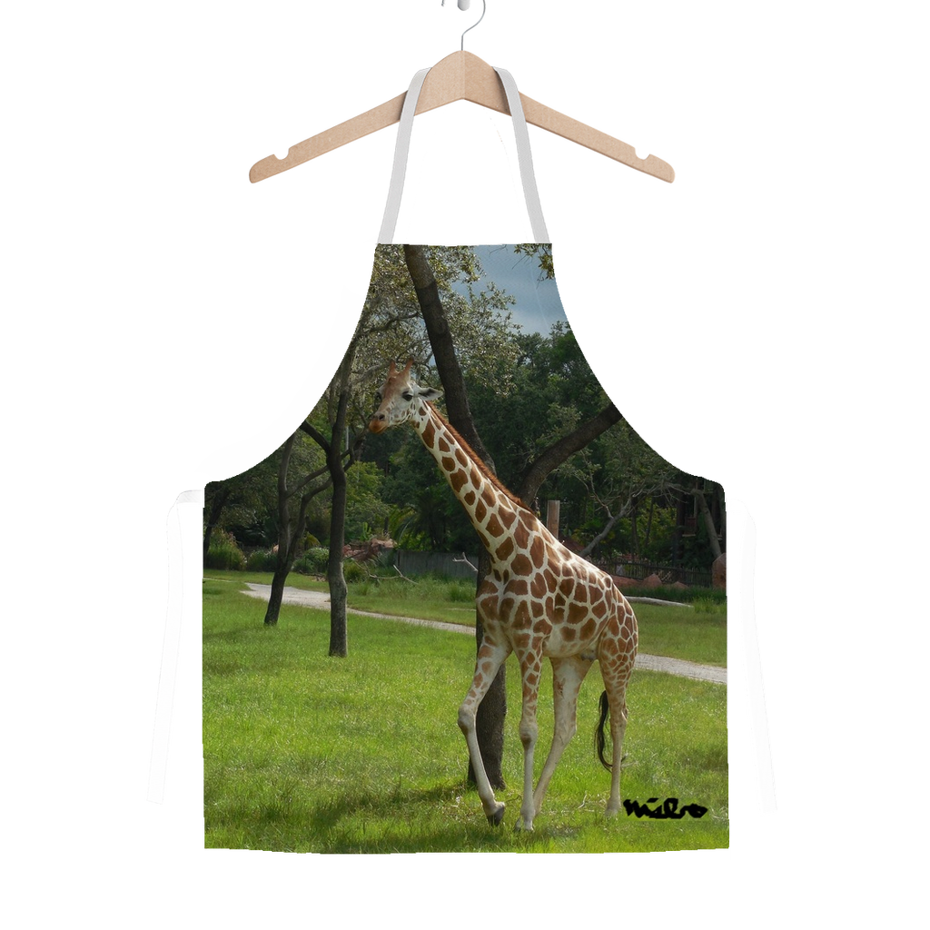Classic Sublimation Adult Apron - Jeffrey the Giraffe Collection