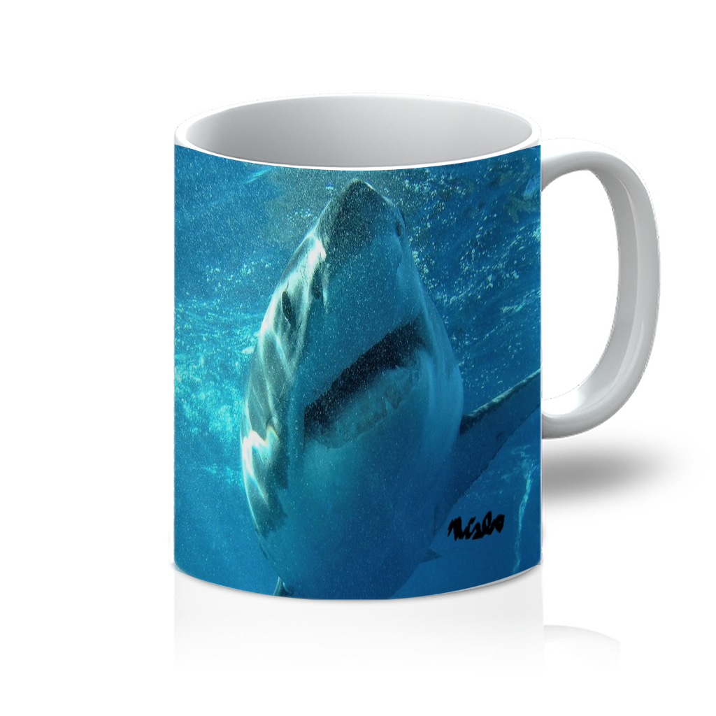 11oz Mug - Surrounded by Sharks Collection