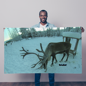 Sublimation Flag/Banner - Rudolph the Reindeer Collection