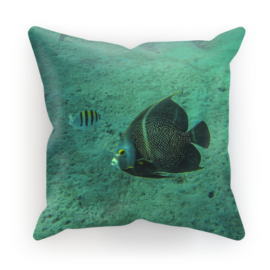 Sublimation Cushion/Throw Pillow Cover - Reef Fish Collection - Angel