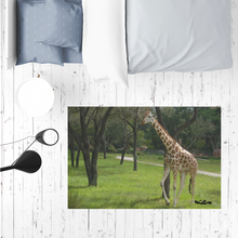 Load image into Gallery viewer, Sublimation Mat / Carpet / Rug / Play Mat / Pet Feeding Mat - Jeffrey the Giraffe Collection