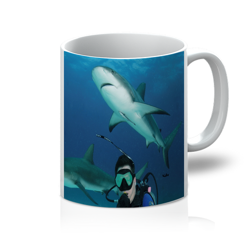 11oz Mug - Swimming With Sharks Collection