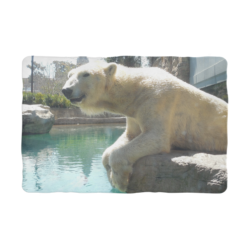 Sublimation Pet Blanket - Arctic Polar Bear Collection
