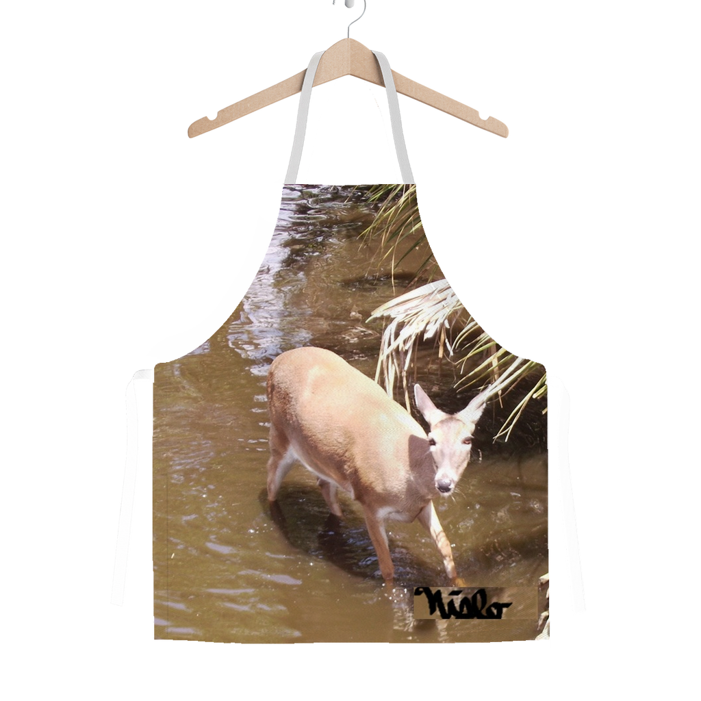 Classic Sublimation Adult Apron - Daisy the Deer Collection