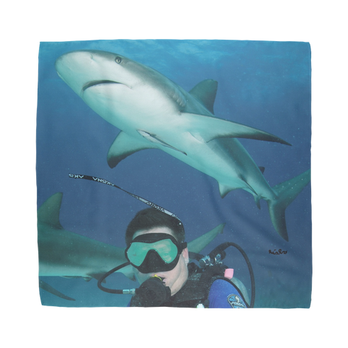 Sublimation Bandana - Swimming With Sharks Collection