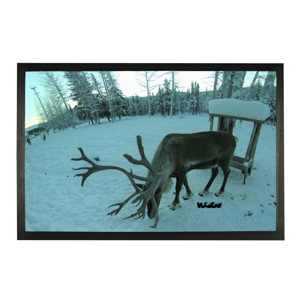 Sublimation Doormat - Rudolph the Reindeer Collection