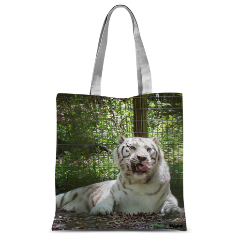 Classic Sublimation Tote Bag - Wally the White Tiger Collection