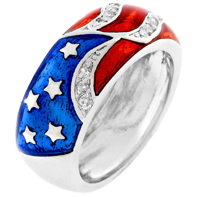 Patriot American Flag Ring