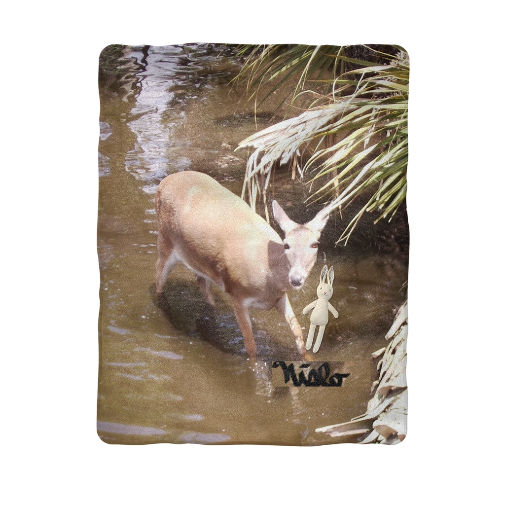 Sublimation Baby Blanket - Daisy the Deer Collection