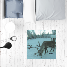Load image into Gallery viewer, Sublimation Mat / Carpet / Rug / Play Mat / Pet Feeding Mat - Rudolph the Reindeer Collection