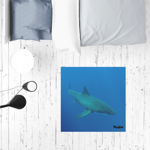 Sublimation Mat / Carpet / Rug / Play Mat / Pet Feeding Mat - Candy the Great White Shark Collection