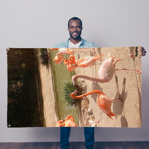 Sublimation Flag/Banner - Flamingo Friends Collection