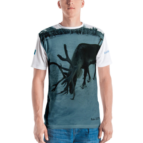 Premium T-shirt (2-sided) - Short Sleeve Unisex - Rudolph the Reindeer Collection