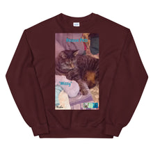 "Load image into Gallery viewer, Unisex Premium Sweatshirt - Rescue Pets Collection - ""Missy"""