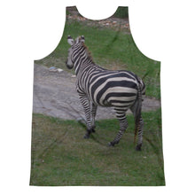 Load image into Gallery viewer, Unisex Tank Top (2-sided) - Zoey the Zebra Collection