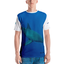 Load image into Gallery viewer, Premium T-shirt (2-sided) - Short Sleeve Unisex - Candy the Great White Shark Shirt Collection
