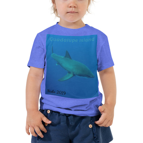 Toddler Short Sleeve Tee - Candy the Great White Shark Collection
