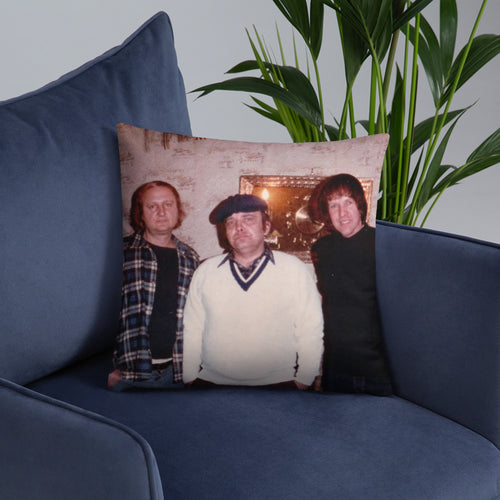 Family Portrait 'Memories' Custom Throw Pillows (3 sizes available)