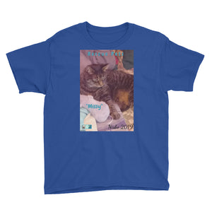 "Youth/Kids' Short Sleeve T-Shirt - Rescue Pets Collection - ""Missy"""
