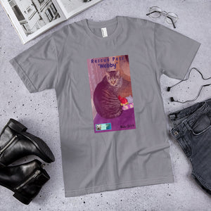 "Unisex Fine Jersey Short Sleeve T-Shirt - Rescue Pets Collection - ""Webby"""