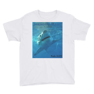 Youth/Kids' Short Sleeve T-Shirt - Surrounded by Sharks Collection