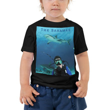 Load image into Gallery viewer, Toddler Short Sleeve Tee - Swimming With Sharks Collection